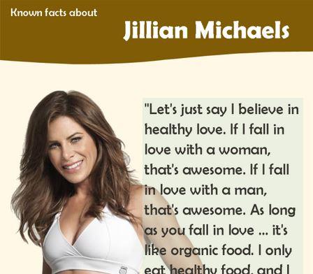 Jillian Michaels Infographic