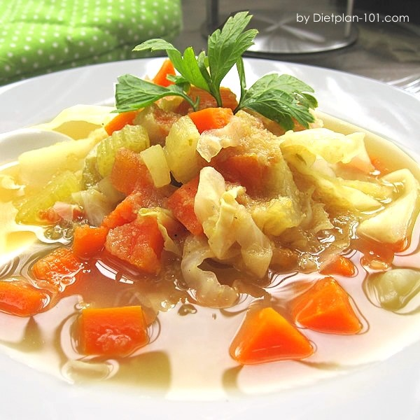 Cabbage Soup Diet Spicy Cabbage Soup Recipe