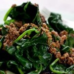 Blanched Spinach with Sesame Sauce (Cabbage Soup Diet Recipe)