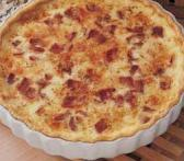 Crust-less Quiche Lorraine (South Beach Phase 2 Recipe)