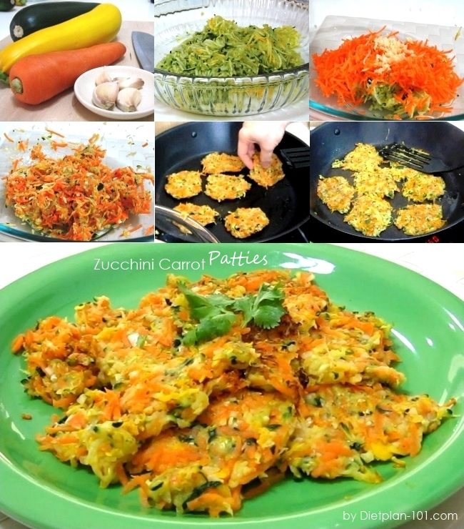 zucchini-carrot-patty
