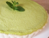 Low Carb Crustless Key Lime Pie Recipe