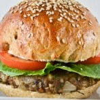 Asian Turkey Burger with Sesame Mayonnaise (South Beach Phase 2 Recipe)