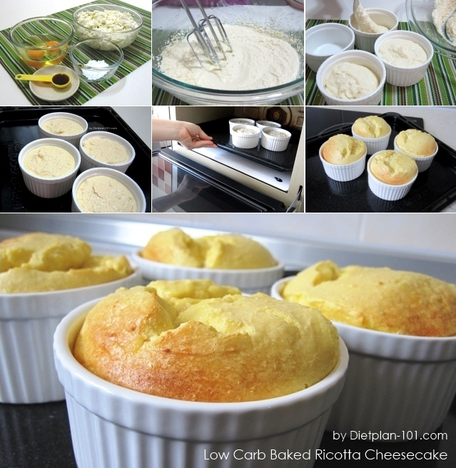 low carb ricotta cheese recipes