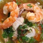 Chicken Shrimp Mixed Veggies Soup (Dukan Diet PV Cruise Recipe)
