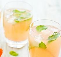 Grapefruit Mint Rum Cooler Recipe