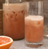 Grapefruit Pear Drink Recipe