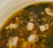 Chicken Spinach Curried Lentil Soup South Beach Phase 1
