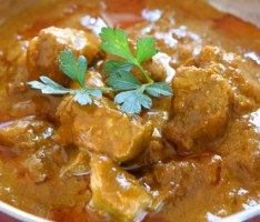 Lamb Curry with Plain Yogurt (Atkins Diet Phase 2 Recipe)