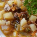 Low-Calorie Mushroom Potato Leek Soup Recipe