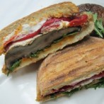 Portobello Mushroom Pita Sandwich (South Beach Phase 2 Recipe)
