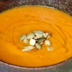 Spiced Celery Carrot Pumpkin Soup (Dukan Diet PV Cruise Recipe)
