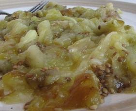 Roasted Eggplant Flesh and Garlic (Dukan Diet PV Cruise Recipe)