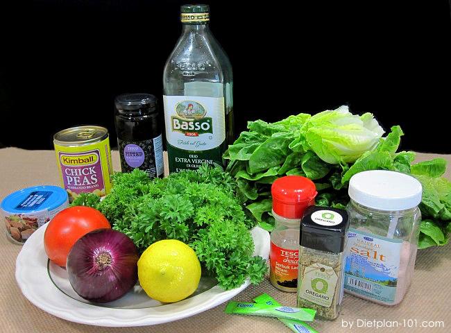 romaine-chickpea-tuna-chopped-salad-ingr