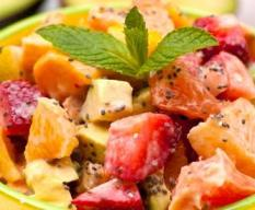 Strawberry Grapefruit Salad Recipe