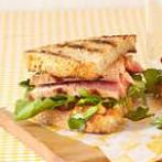 Tuna Watercress Sandwich with Wasabi Mayonnaise (Atkins Diet Phase 1 Recipe)