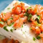 Low-Calorie Baked Grouper Fillet with Vegetables Recipe