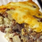 Gluten-Free Beef Cheeseburger Pie Recipe