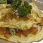 Low-Calorie Ratatouille Omelette Recipe