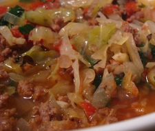 Low-Calorie Ground Turkey Vegetables Soup Recipe