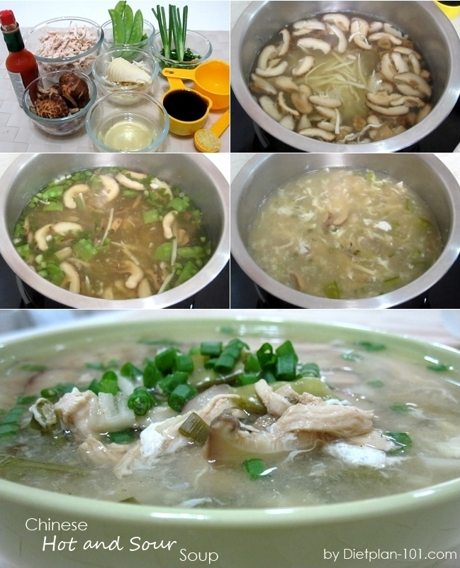 Chinese Hot and Sour Soup (South Beach Phase 1 Recipe) - Diet Plan 101