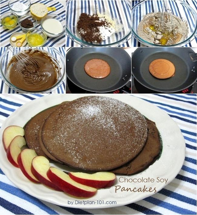 chocolate-soy-pancake