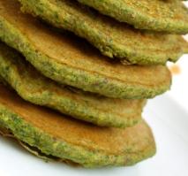Savory Cauliflower Green Pea Pancakes (Atkins Diet Phase 3 Recipe)