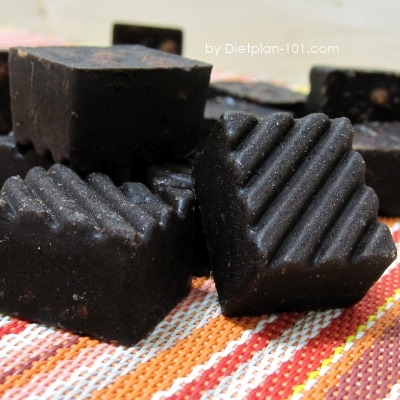 Low Carb Sugar-free Almond Chocolate (Atkins Diet Phase 2 Recipe)