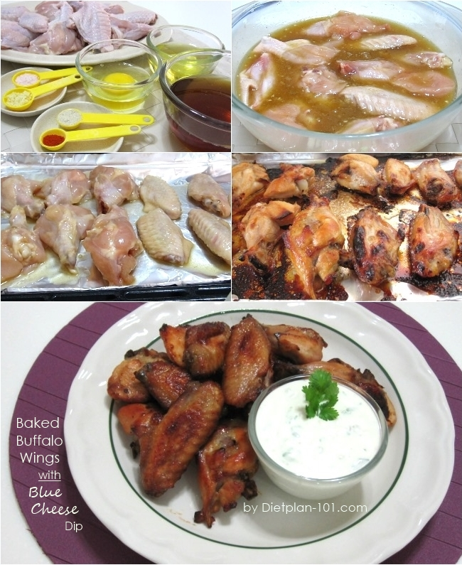baked-buffalo-wings-bluecheese-dip