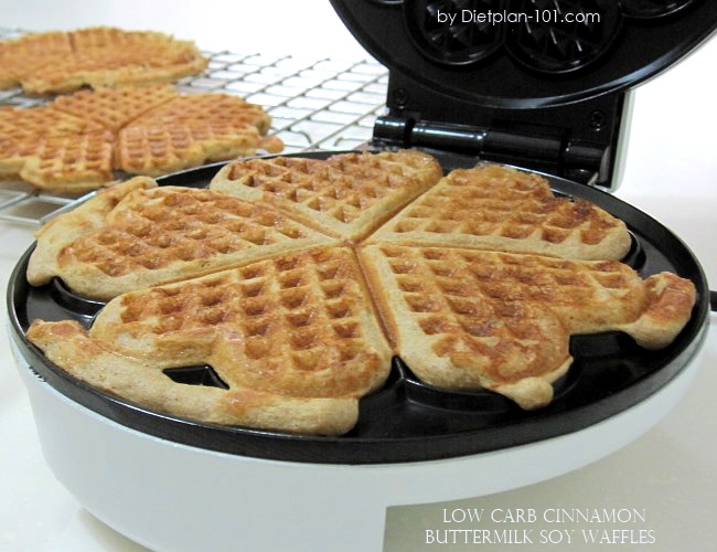cinnamon-buttermilk-soy-waffles-iron
