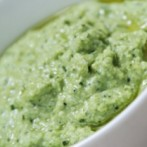 Edamame Hummus with Italian Parsley (Diabetic Recipe)