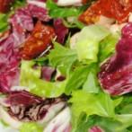 Italian Romaine Radicchio Chopped Salad (Diabetic Recipe)
