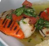 Pan-Seared Scallops with French Sauce Vierge (Dukan Diet PV Cruise Recipe)