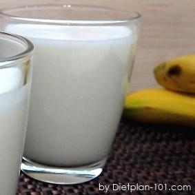 Banana Almond Milk Smoothie (Diabetic Recipe)