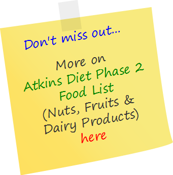 atkins-phase2-nuts-fruits-dairy
