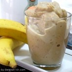 Banana Milk Coffee Smoothie (Cabbage Soup Diet Recipe)