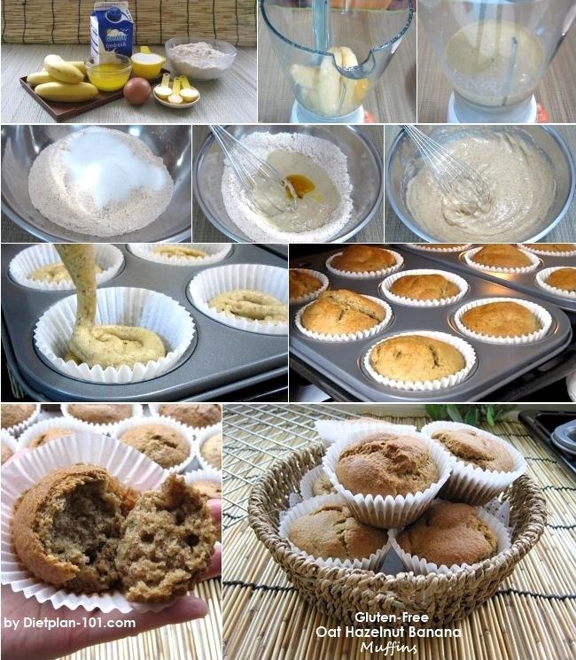 oat-hazelnut-banana-muffins-steps