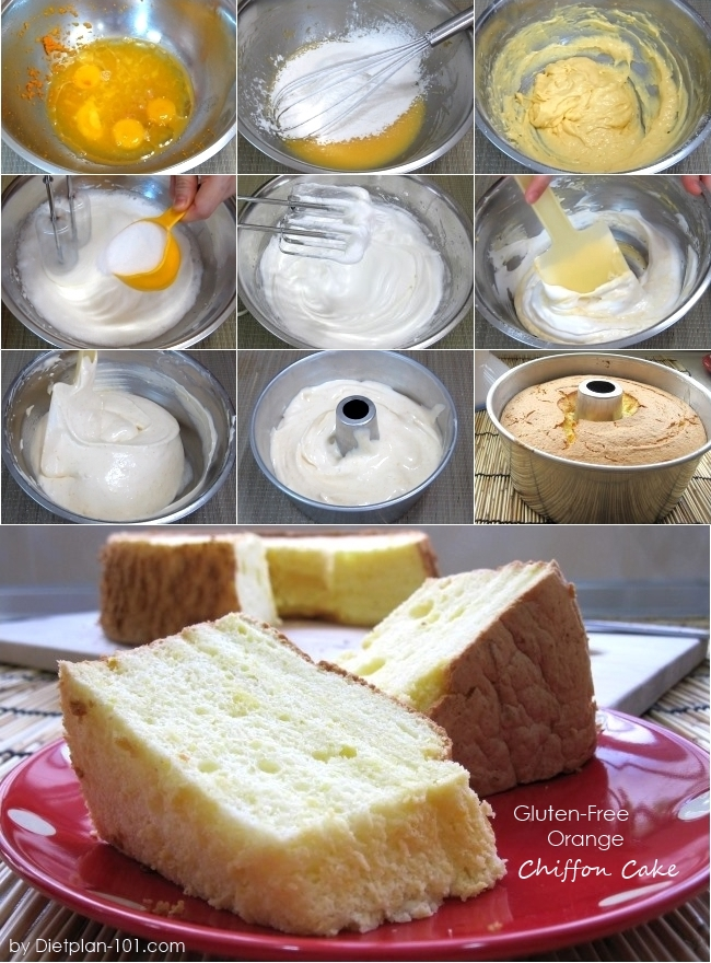 Gluten-Free Orange Chiffon Cake Recipe - Diet Plan 101