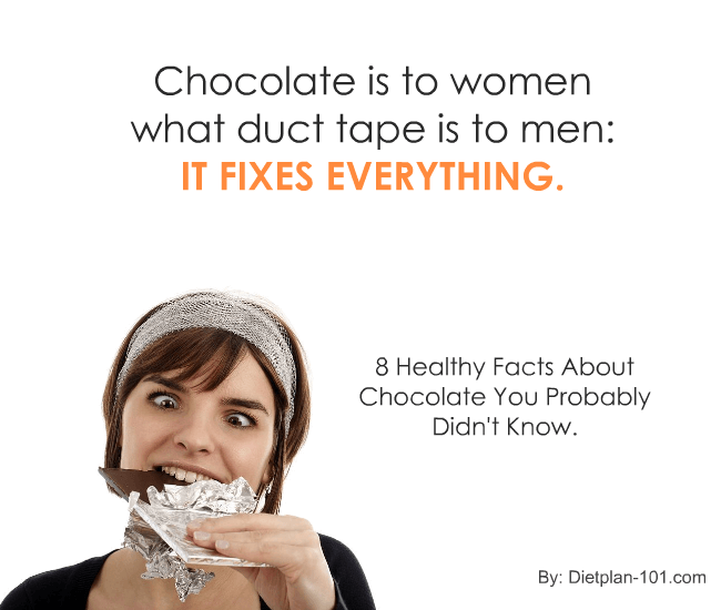 8 Healthy Facts About Chocolate You Probably Didn't Know