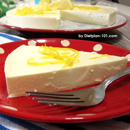 Low Carb Chilled Lemon Cheesecake Recipe