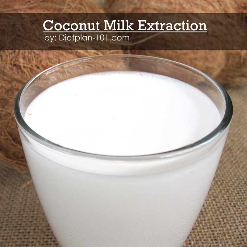 Coconut Milk Extraction