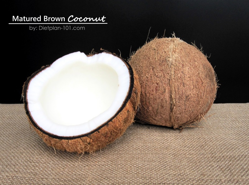 Matured Brown Coconut