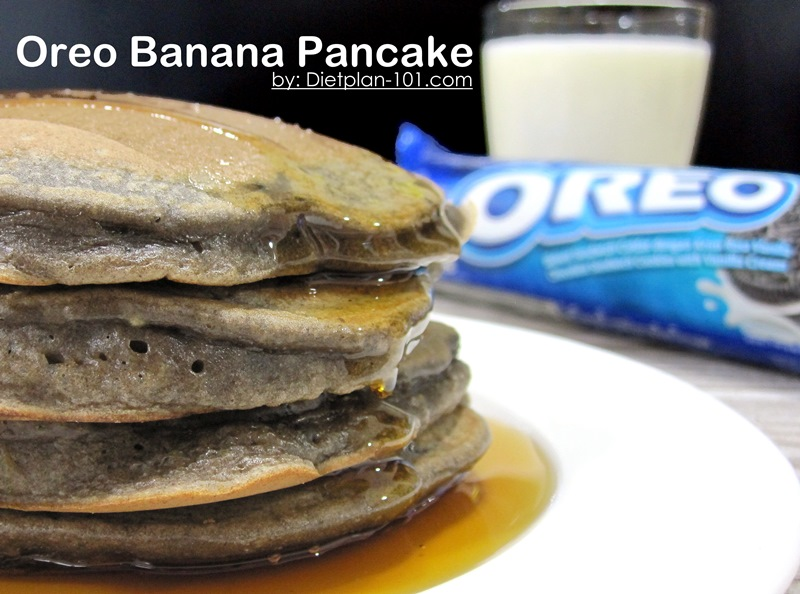 321 Oreo Banana Pancake – Have Fun