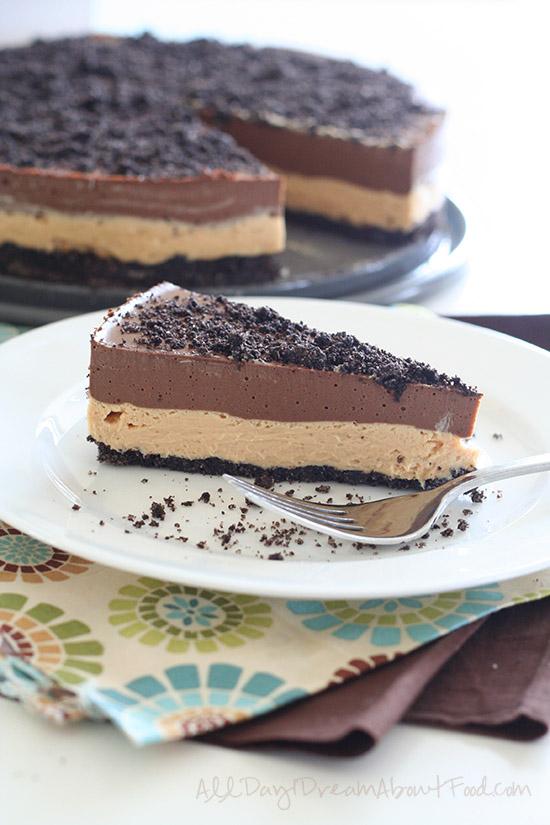 Chocolate-Peanut Butter Dirt Cake