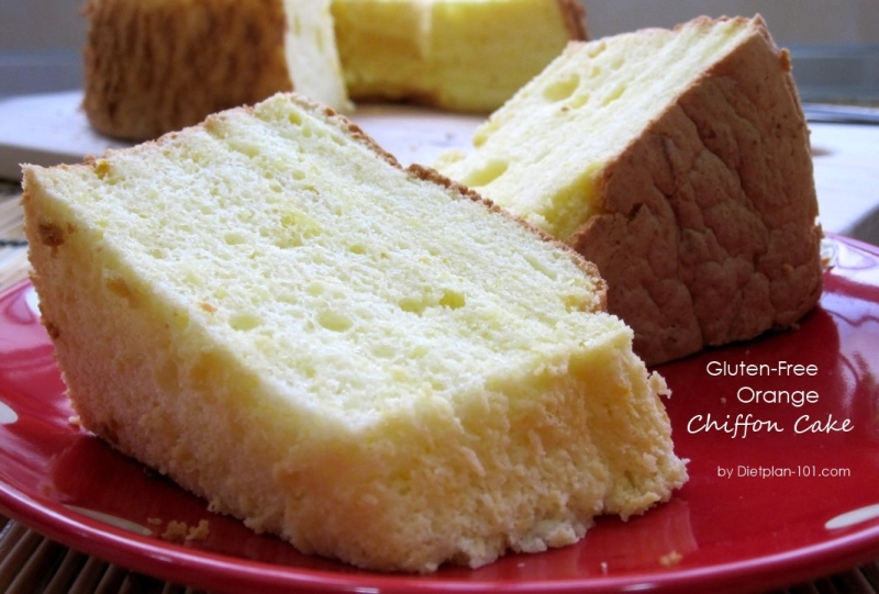 Gluten-Free Orange Chiffon Cake Recipe