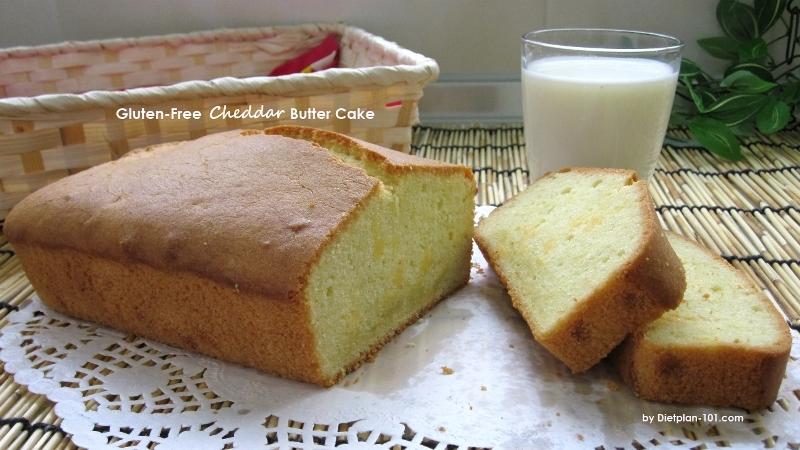 Gluten-Free Cheddar Butter Cake