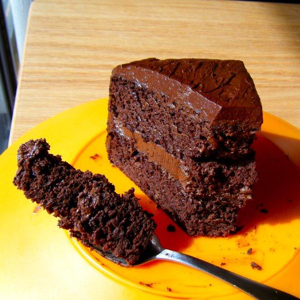 Flourless Banana Chocolate Cake