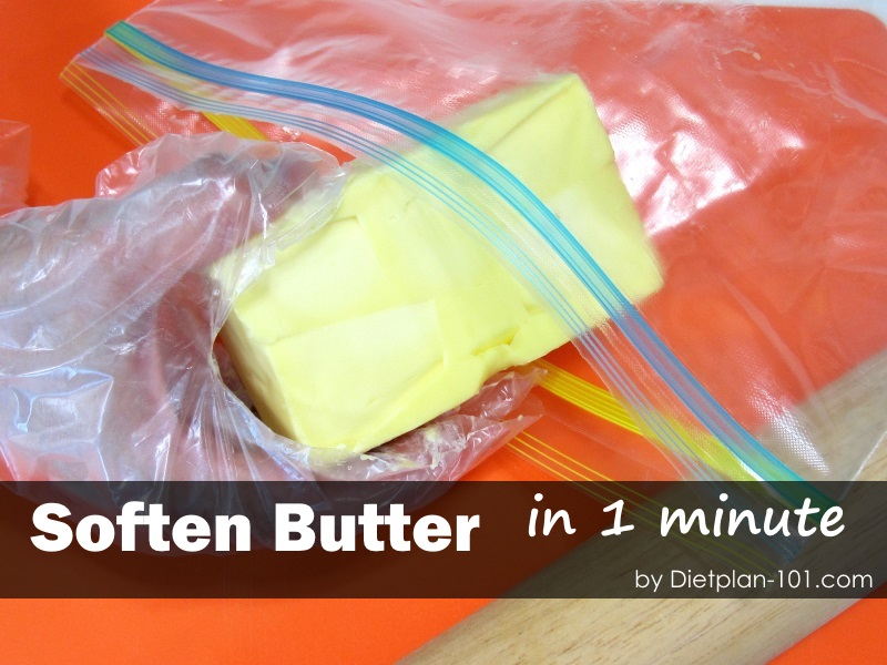 Quick Way To Soften Butter To Room Temperature