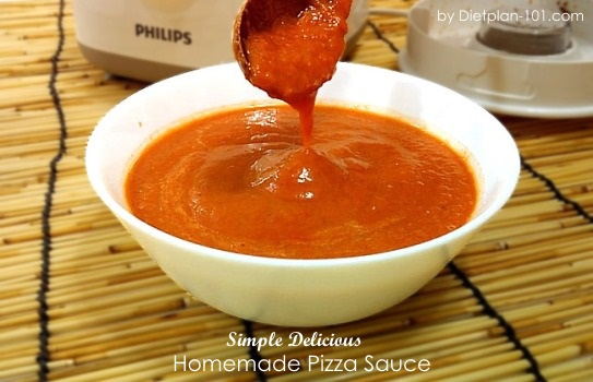 Simple Delicious Homemade Pizza Sauce