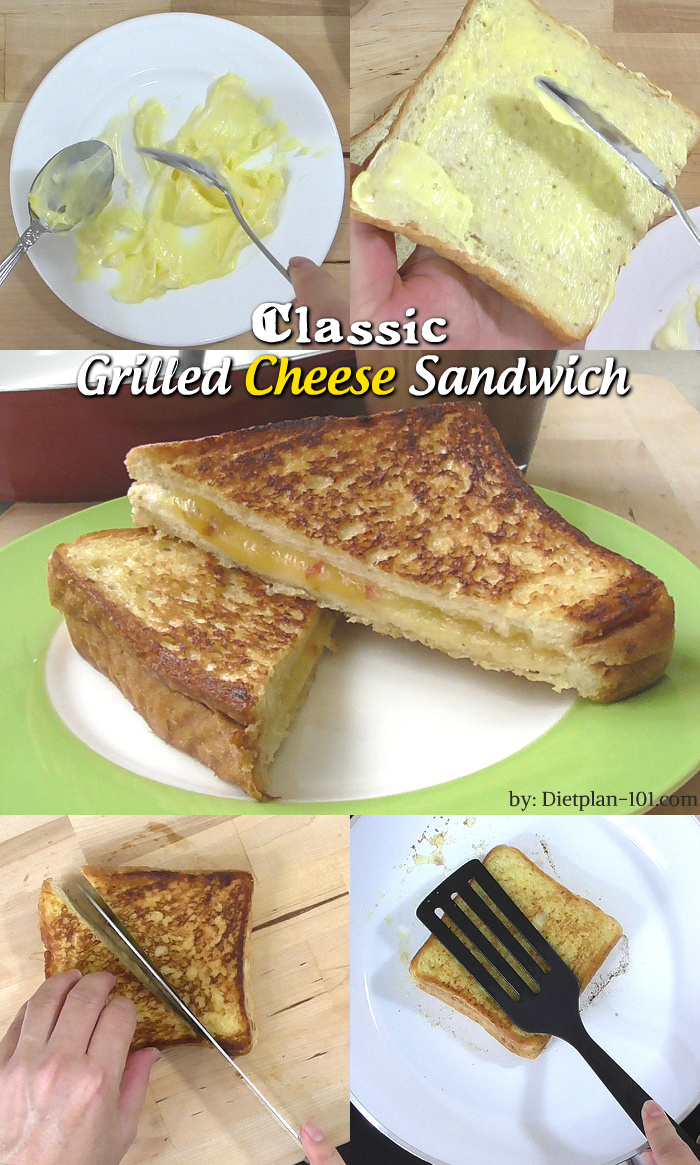 How to make classic grilled cheese sandwich